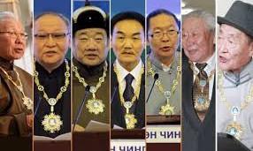 Чингис хаан одонгоор 11 хүн, нэг хамтлаг шагнуулж байжээ