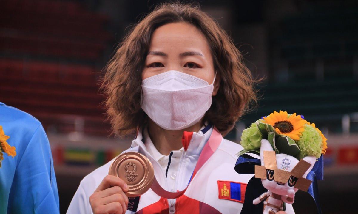 М.Уранцэцэг: Энэ медалийг авахын төлөө 16 жил хичээллэсэн. Маш их баяртай байна